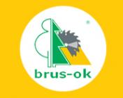 Логотип компании Brus-ok
